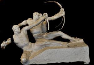 SCULTURE GIUSEPPE MARTINI ARCERI STUDIO PERITALE VERDI DEMMA@