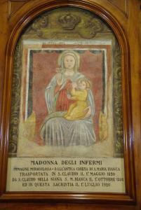 L'affresco preso in esame è sito presso il Convento sito in Parma via verdi 3 avd@ (1)