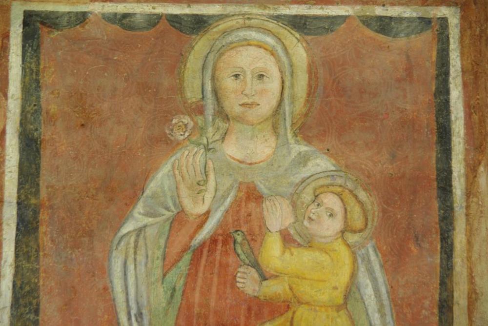 L'affresco preso in esame è sito presso il Convento sito in Parma via verdi 3 avd@ (2)