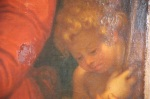 Madonna del velo dipinto particolare