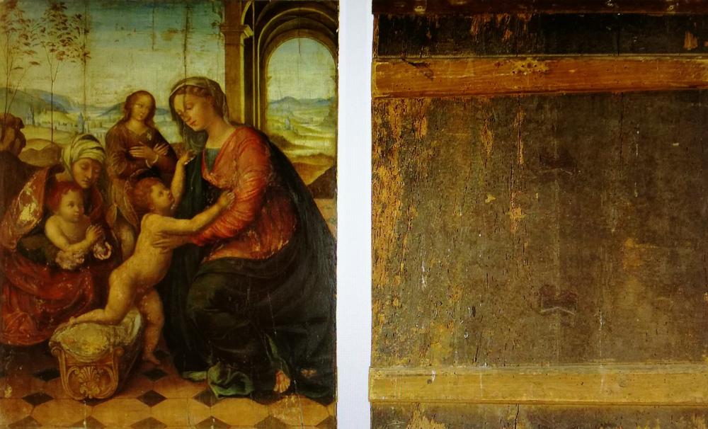 """Giulio Romano Analisi della """"Madonna con bambino"""""""
