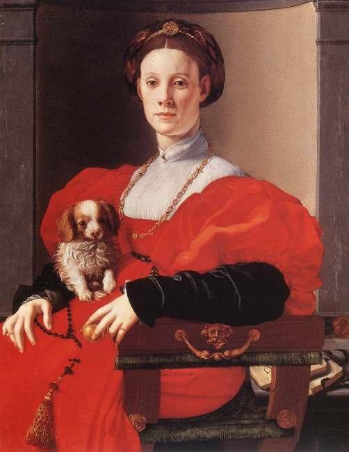 jacopo-pontormo-ritratto-di-dama-in-rosso