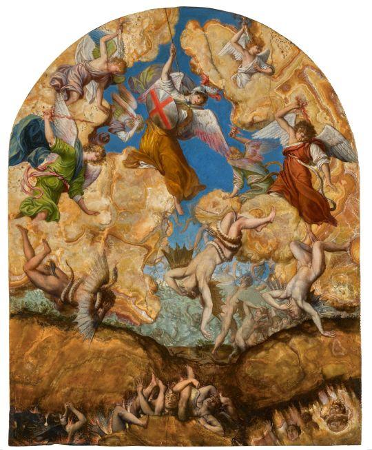Orazio Gentileschi Caduta degli Angeli Ribelli. Sotheby's a New York il prossimo 30 gennaio
