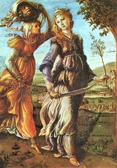 Giuditta torna con la testa di Oloferne, 1469 - 1470, Firenze, Uffizi