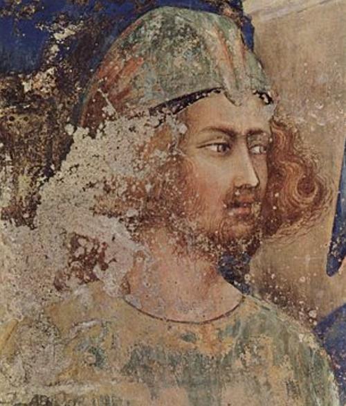 ritratto di giovane, cappella di s. martino Simone Martini
