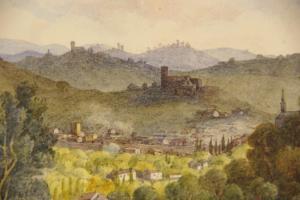 firenze dalla villa capogatti aprile 1849 gran tour studio verdi demma@