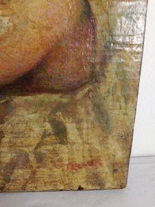 Dipinto in fase di studio Alfredo Verdi Demma@2