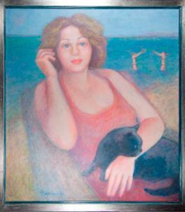 PAOLA SALVESTRINI ritratto di giulia collezione privata avd@