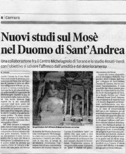 giornale Duomo di Carrara foto Alfredo Verdi Demma@