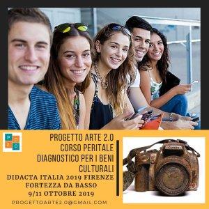 corso peritale diagnostico per i beni culturali progetto arte due punto zero