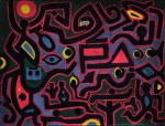 dipinto a firma klee studio peritale diagnostico verdi demma @