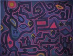 infrarosso su dipinto a firma klee @avd (1)