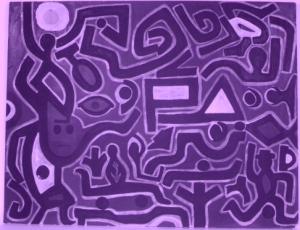 infrarosso su dipinto a firma klee @avd (3)