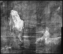Hodges, una vista del porto di Picksgrill, raggi X della baia oscura