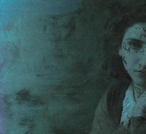 Un'analisi UV del dipinto Mignon di William Bouguereau